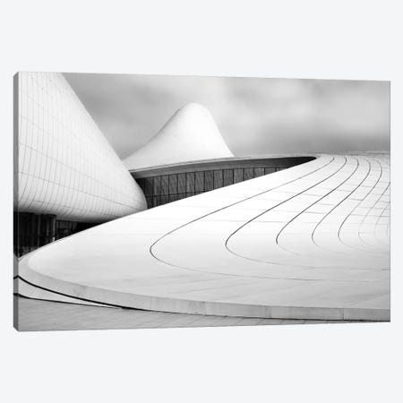 Heydar Aliyev Centre Canvas Print #OXM3975} by Richard Krchnak Canvas Wall Art
