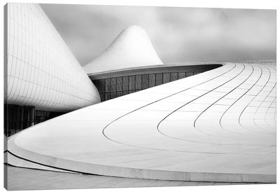 Heydar Aliyev Centre Canvas Art Print
