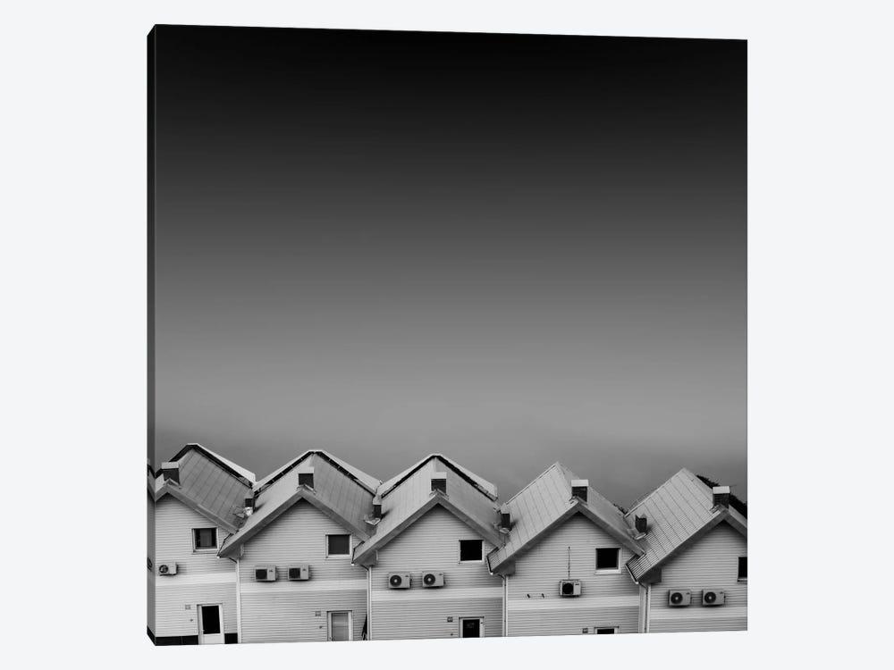 Sea Hut by Alexey Sorochan 1-piece Canvas Print