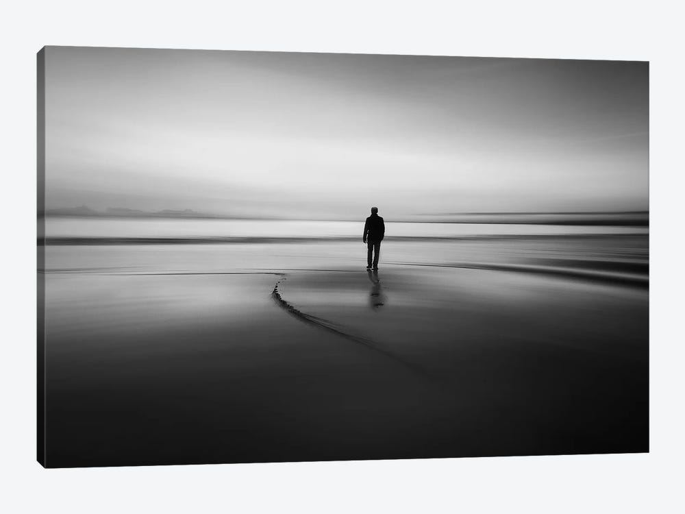 Walking To Nowhere by Santiago Pascual Buye 1-piece Canvas Artwork