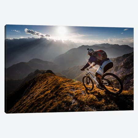 The Call Of The Mountain Canvas Print #OXM401} by Sandi Bertoncelj Canvas Wall Art