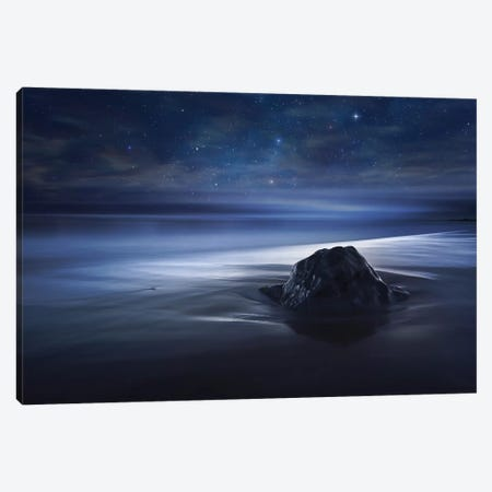 Blue Velvet Canvas Print #OXM4022} by Sebastien Del Grosso Canvas Art