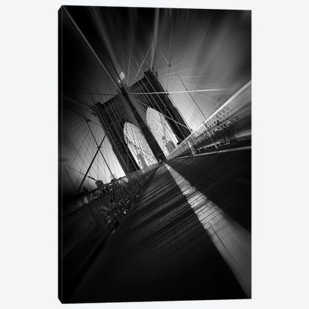 Brooklyn Bridge Canvas Print #OXM4023} by Sebastien Del Grosso Canvas Art