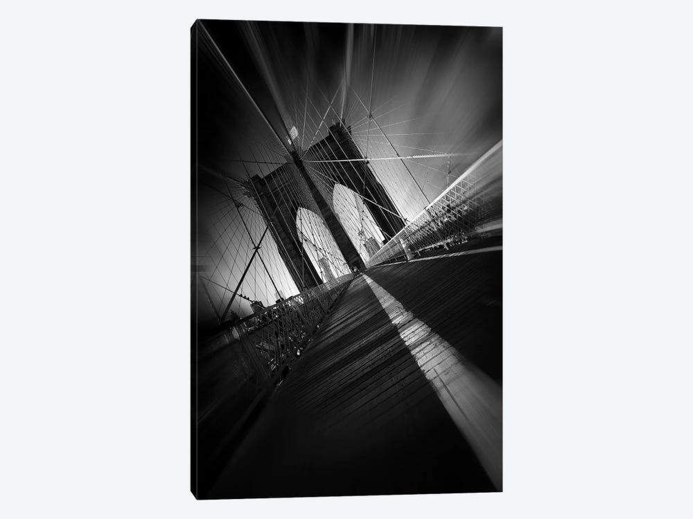 Brooklyn Bridge by Sebastien Del Grosso 1-piece Canvas Art