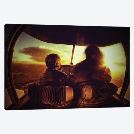 Flying Canvas Print #OXM4030} by Sebastien Lory Canvas Art Print