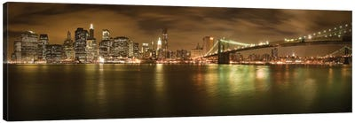 New York Skyline Canvas Art Print