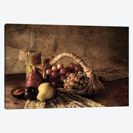 Grapes Canvas Print #OXM4039} by Silvia Simonato Canvas Art Print