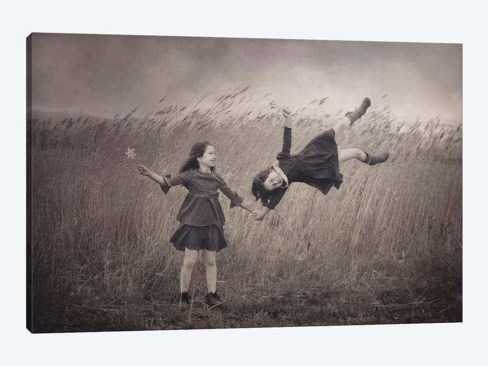 Windy Fairy Tales by Svetlana Bekyarova 1-piece Canvas Art