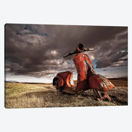 Vespa Canvas Print #OXM4069} by Þorsteinn H. Ingibergsson Canvas Wall Art