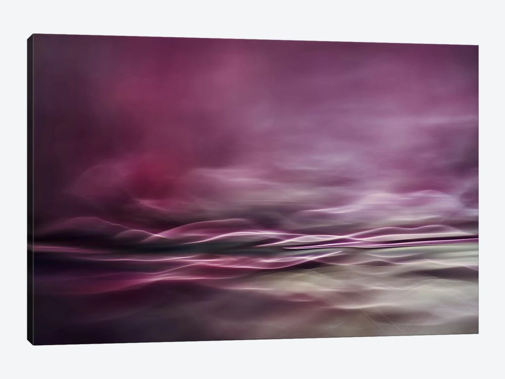Water Colours by Willy Marthinussen 1-piece Canvas Art Print