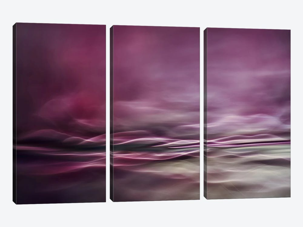 Water Colours by Willy Marthinussen 3-piece Canvas Print