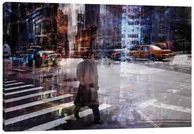 Woody Allen Crossing Canvas Art Print