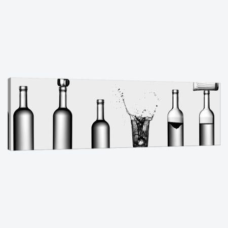 Bottles Game Canvas Print #OXM4091} by Valeriy Kasmasov Art Print