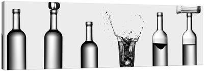 Bottles Game Canvas Art Print