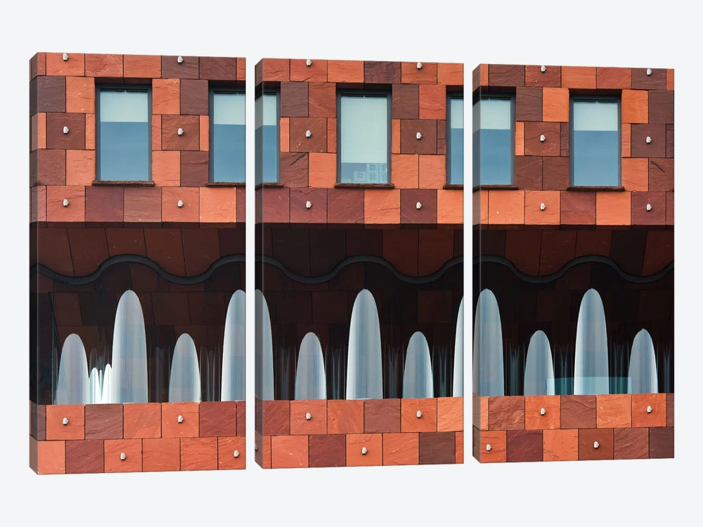 Windows And Mas by Greetje van Son 3-piece Art Print