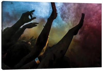 Holi Festival Of Colours Canvas Art Print