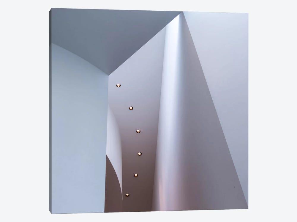 White Structures by Carsten Velten 1-piece Art Print