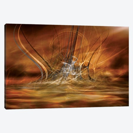 The Rising Canvas Print #OXM4117} by Willy Marthinussen Canvas Art Print