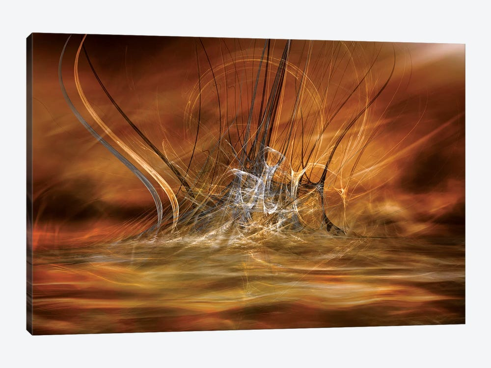 The Rising by Willy Marthinussen 1-piece Canvas Art