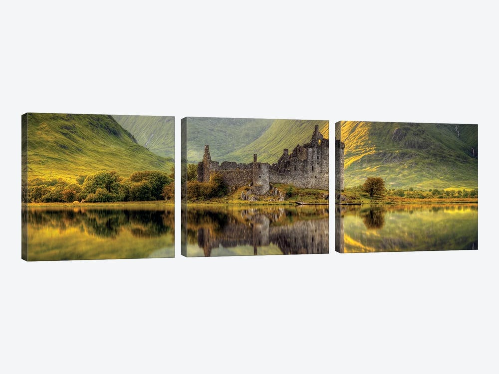 Kilchurn by Wojciech Kruczynski 3-piece Canvas Wall Art