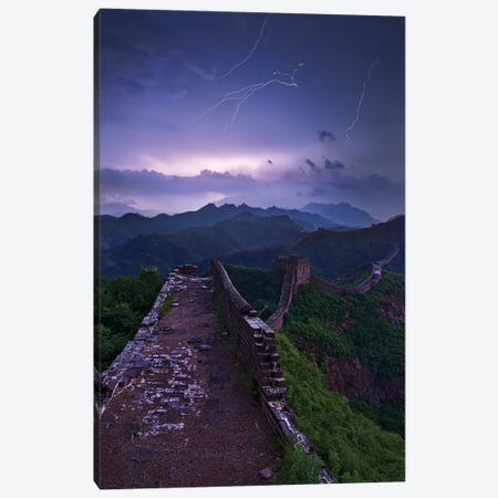 Great Wall Canvas Print #OXM4125} by Yan Zhang Canvas Wall Art