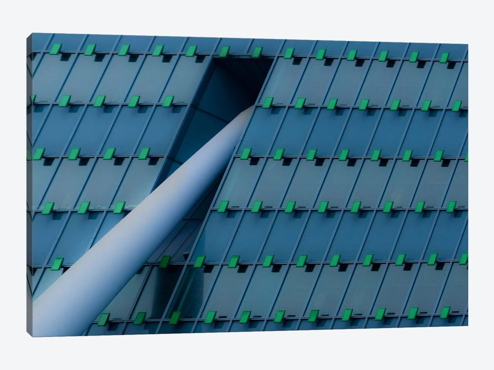 Kpn Building by Greetje van Son 1-piece Canvas Print