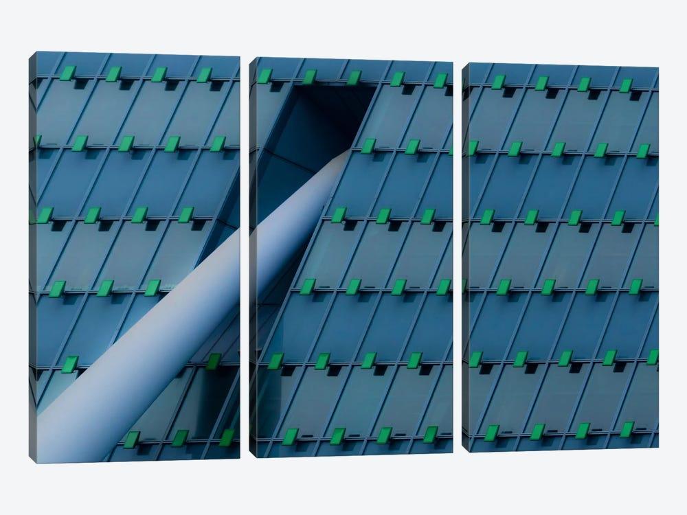 KPN Building by Greetje van Son 3-piece Art Print