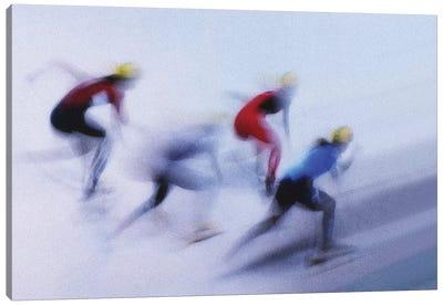 Speed Skating I Canvas Art Print