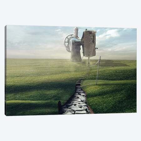 Cultivate The Ground Canvas Print #OXM4148} by Sulaiman Almawash Art Print