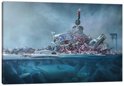 Destruction Of The Environment Canvas Art Print