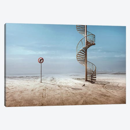 Forbidden To Climb Canvas Print #OXM4152} by Sulaiman Almawash Canvas Wall Art