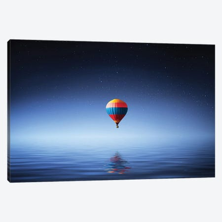 Parachute Canvas Print #OXM4173} by Bess Hamiti Canvas Wall Art