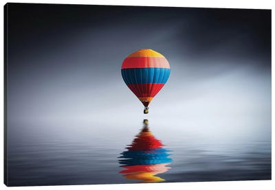 Reflection Balloon Canvas Art Print