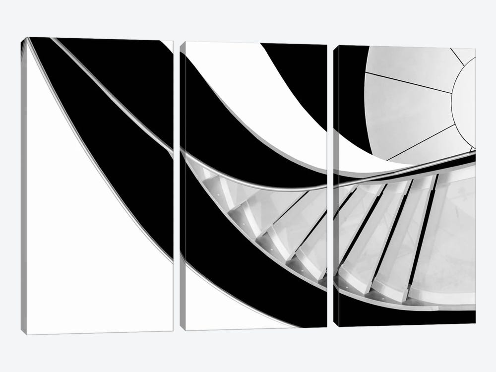 Stairway To Heaven by Rui Correia 3-piece Canvas Wall Art