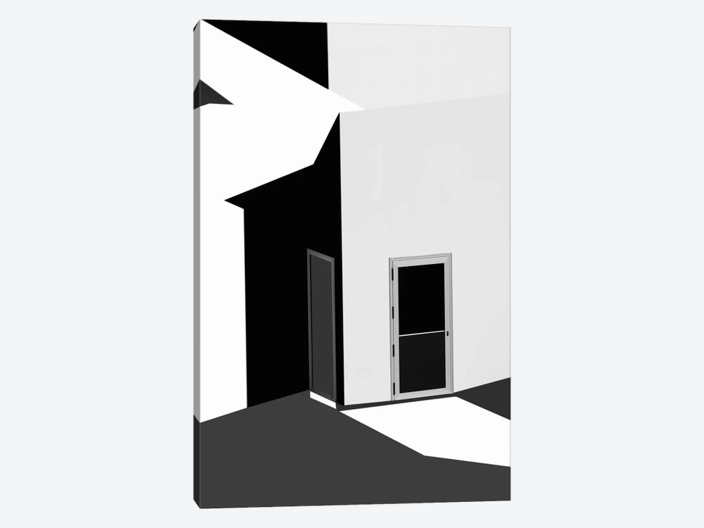 Closed Doors by Olavo Azevedo 1-piece Canvas Art Print