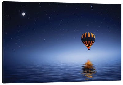 Air Balloon Canvas Art Print