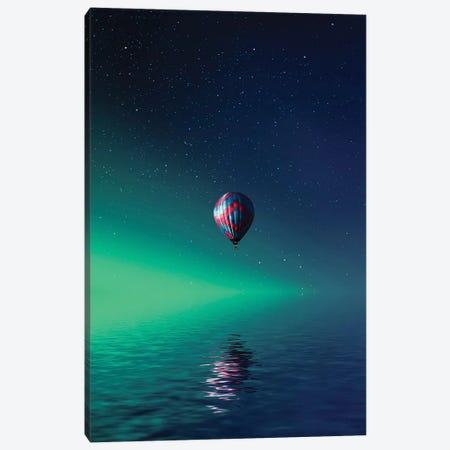 Balloon On Lake Batllava Canvas Print #OXM4194} by Bess Hamiti Canvas Art Print