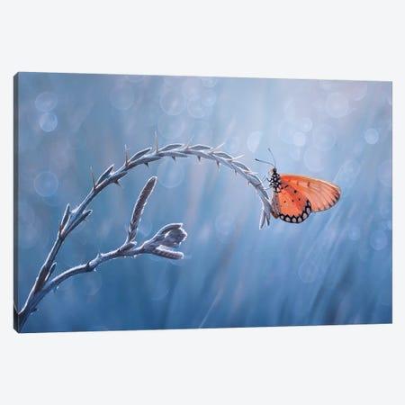 Blues Canvas Print #OXM4220} by Edy Pamungkas Canvas Artwork