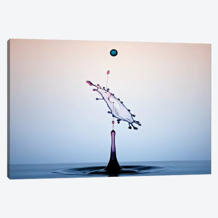 Color Water Art 3-Piece Canvas #OXM4221} by Edy Pamungkas Canvas Artwork
