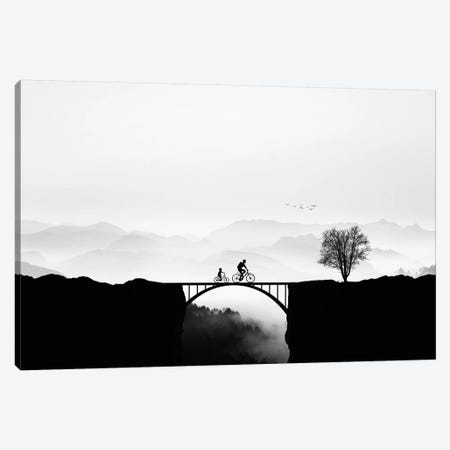 Bicycle Ride 3-Piece Canvas #OXM4272} by Bess Hamiti Canvas Print