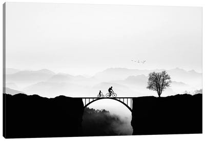 Bicycle Ride Canvas Art Print
