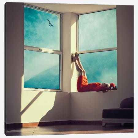 Room With A View Canvas Print #OXM4297} by Ambra Canvas Wall Art