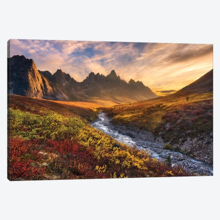 Mountain Paradise Canvas Print #OXM4307} by Chris Moore Canvas Art