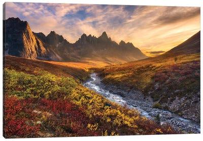 Mountain Paradise Canvas Art Print