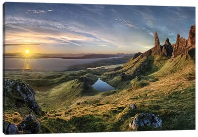 The Old Man of Storr Canvas Art Print