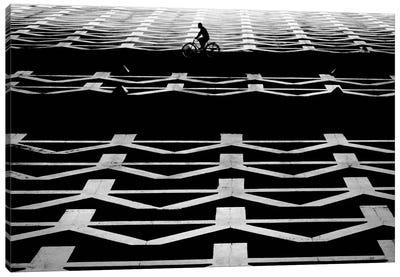 Passing Che, Plaza De La Revolution, Santa Clara, Cuba. Canvas Print #OXM431