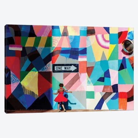 One Way Canvas Print #OXM4324} by Gloria Salgado Gispert Canvas Art