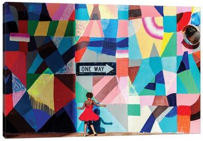 One Way Canvas Art Print