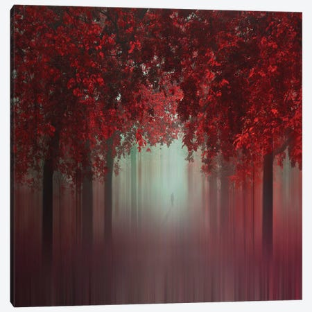 Out Of Love Canvas Print #OXM4345} by Ildiko Neer Canvas Artwork