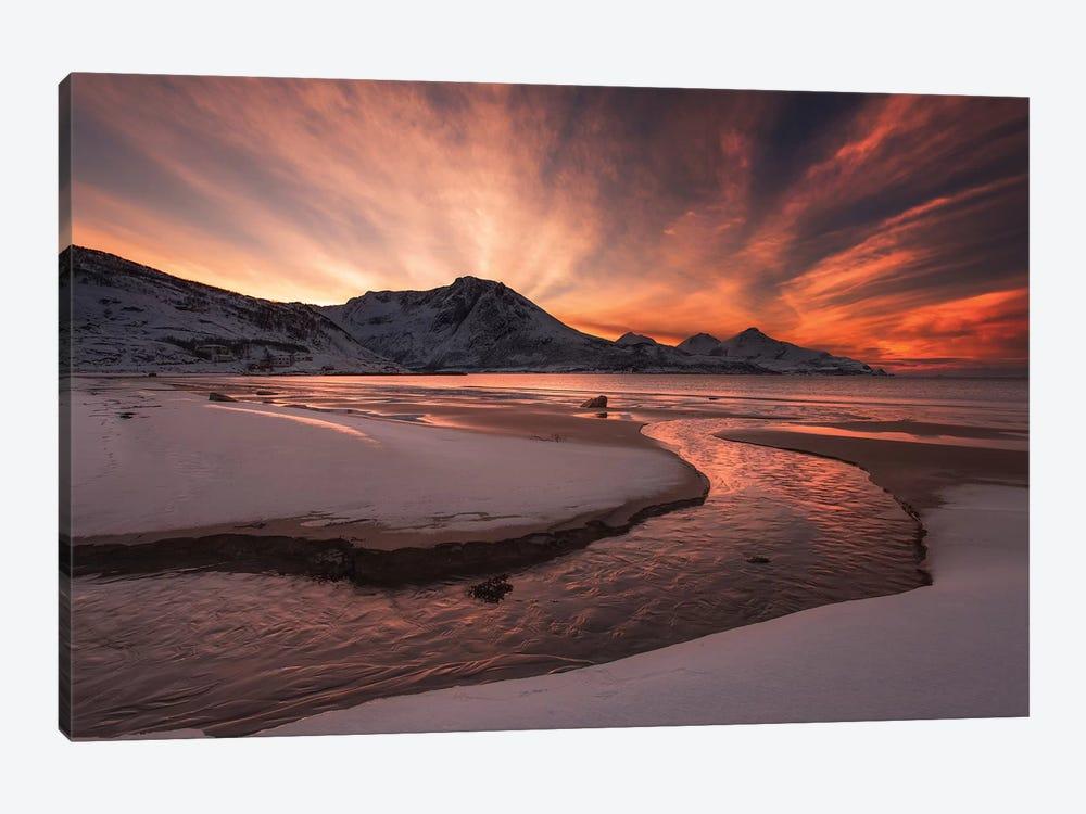 Golden Sunset by Jaroslav Zakravsky 1-piece Canvas Wall Art